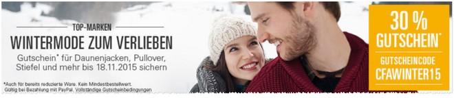 eBay-Wintermode-Gutschein