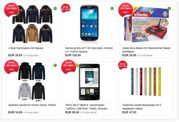 eBay WOW Angebote des Tages vom 9.10.2015