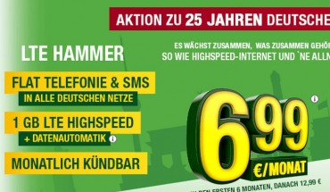 LTE-Hammer ab 6,99 €