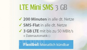 LTE Mini SMS Tarife