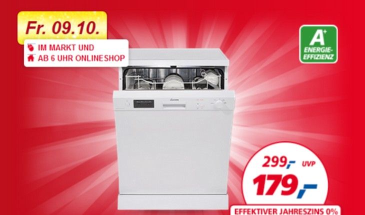 luxor geschirrsp ler gss60dc1343 real am. Black Bedroom Furniture Sets. Home Design Ideas