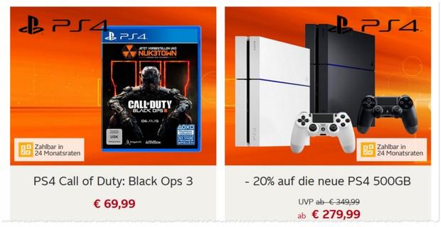 PlayStation 4 günstig für OTTO Neukunden
