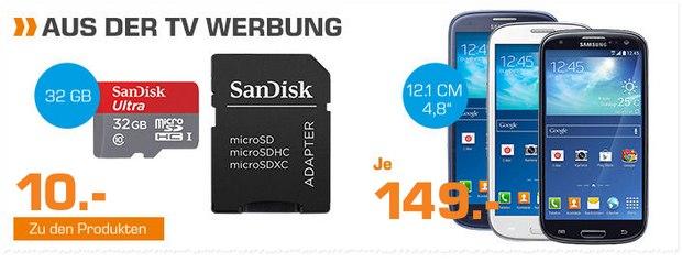 Samsung Galaxy S3 Neo aus der Saturn-Werbung bis 12.10.2015 für 149 €