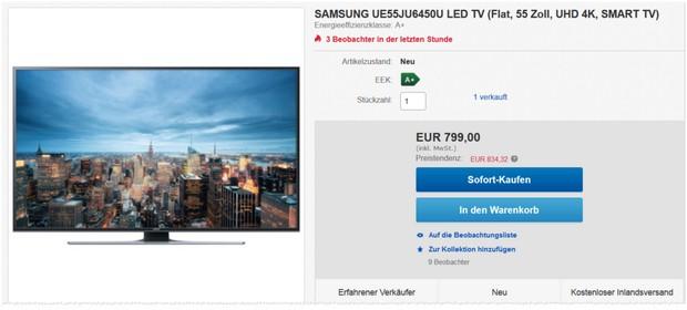 Samsung UE55JU6450U