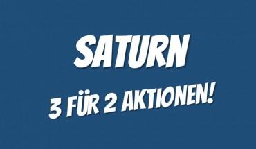 Saturn 3 für 2 Aktionen