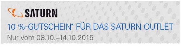 Saturn Outlet-Gutschein bei eBay im Oktober 2015