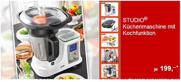 Studio Küchenmaschine als ALDI-Angebot ab 7.7.2016