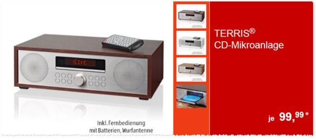 Terris CD-Mikroanlage MCD 254