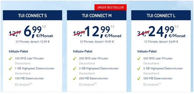 TUI CONNECT Werbung