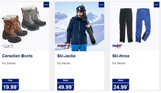 Shamp Skibekleidung bei ALDI Nord im Angebot
