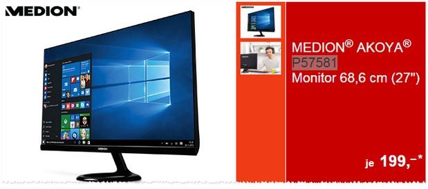 ALDI Monitor für 199 € im Angebot