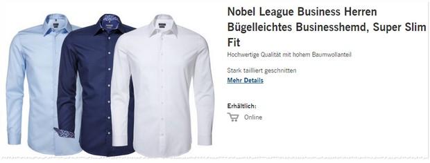 Lidl Hemden in 3 verschiedenen Farben nur 9,99 €