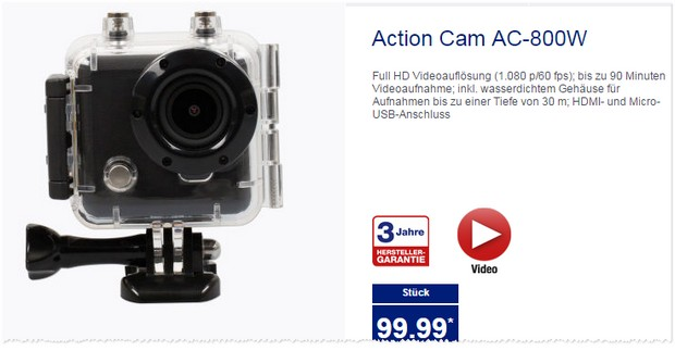ALDI Action Cam