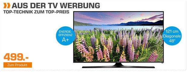 Samsung UE48J5670SU als Saturn-Angebot ab 7.12.2015 für 499 €