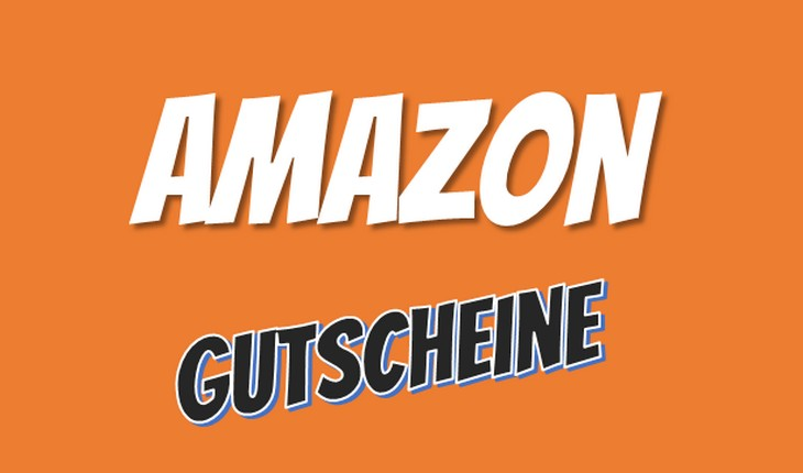 Amazon gutschein in hand halten