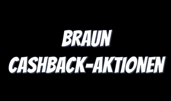 Braun Cashback
