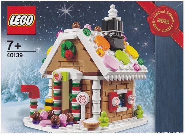 Lego Lebkuchenhaus kostenlos zum Brick Friday