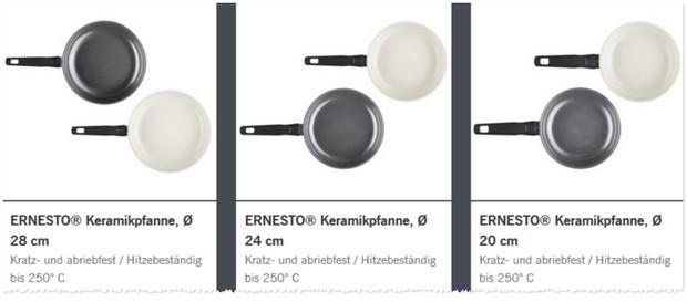 LIDL Keramikpfannen im Angebot