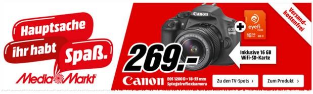 Media Markt Werbung ab 16.11.2015 mit Canon Bundle