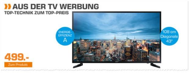 Samsung UE43JU6050 Fernseher