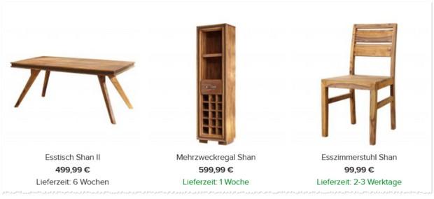 Shan Rahimkhan Möbel Gutschein
