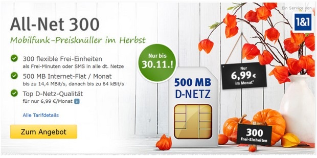 WEB.DE All-Net 300