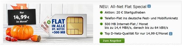 Web.de Allnet-Flat Special