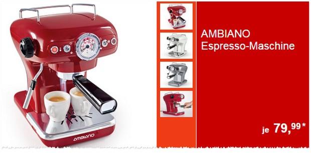 ALDI Espresso-Maschine von Ambiano
