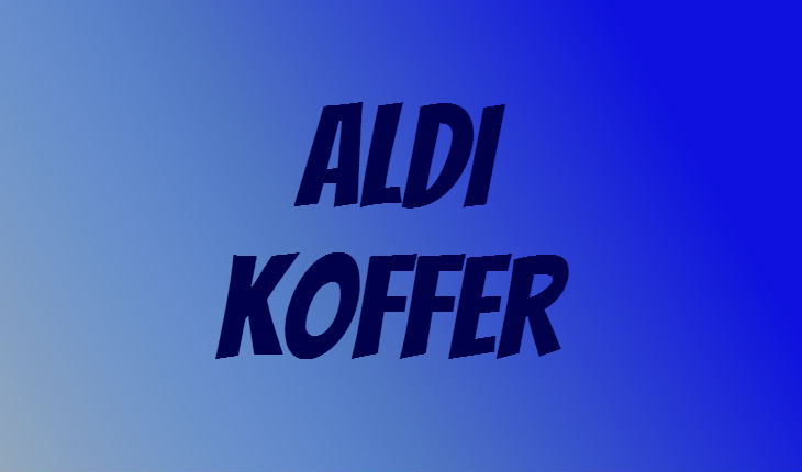 ALDI Koffer