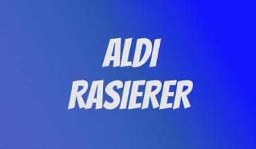 ALDI Rasierer