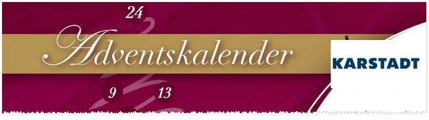 Adventskalender von Karstadt