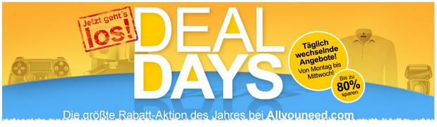 Allyouneed Deal Days