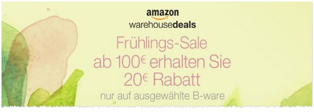 Amazon Frühlings-Sale