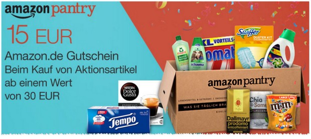 Amazon Pantry Aktion
