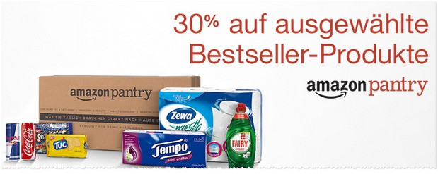 Amazon Pantry Box mit Rabatt