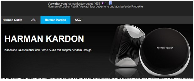 Harman Kardon Outlet