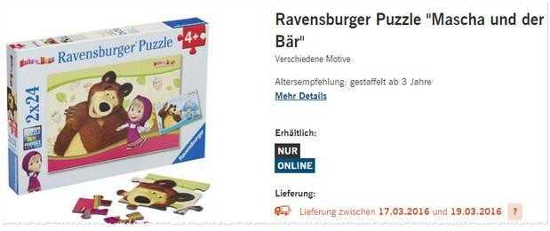 Ravensburger Puzzle von LIDL