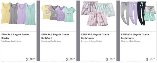 LIDL Pyjamas