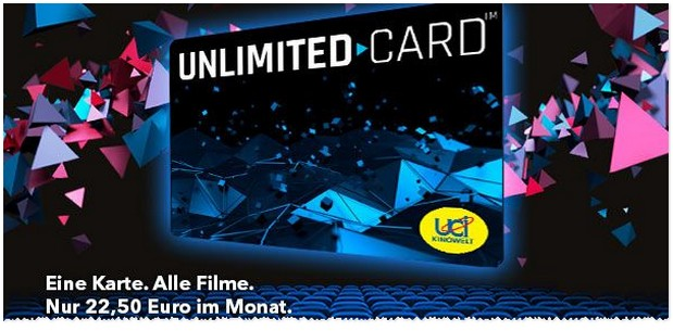 Kino Flat mit der UCI Unlimited Card