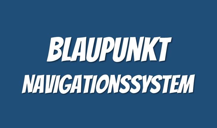 Blaupunkt Navigationssystem