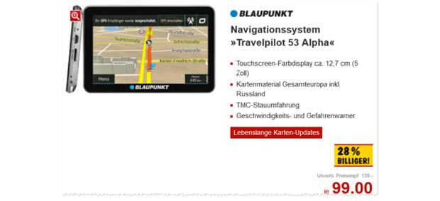 Blaupunkt Travelpilot 53 Alpha