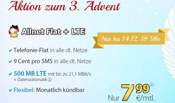 DeutschlandSIM Allnet-Flat + LTE