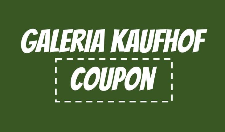Galeria Kaufhof Coupon
