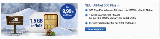 GMX All-Net 500 Plus