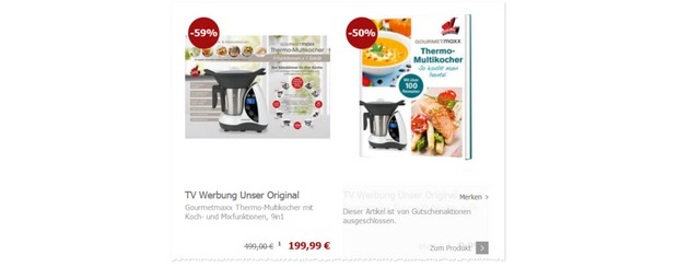 Gourmetmaxx 9in1 Thermo-Multikocher