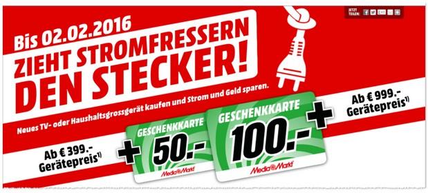 Media Markt Geschenkkarten Aktion 2016