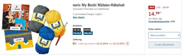 myboshi Häkelmützen im Set