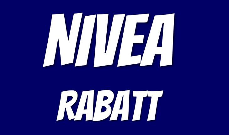 NIVEA Rabatt