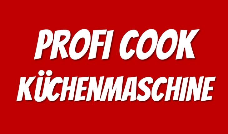 Profi Cook Küchenmaschine