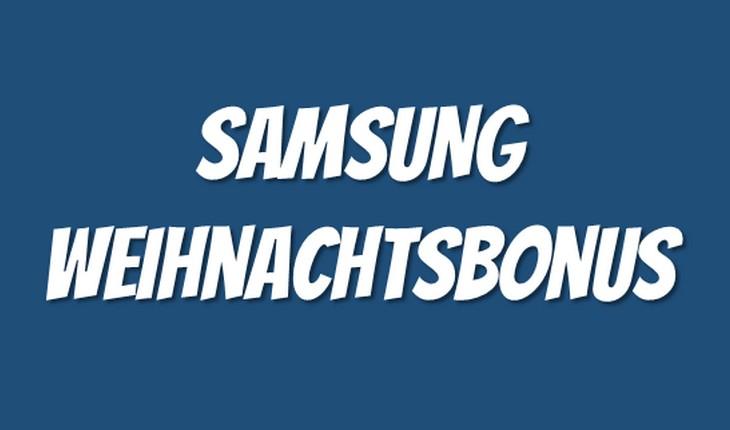 Samsung Weihnachtsbonus